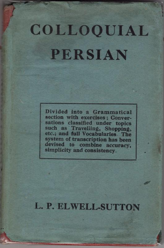 l p elwell sutton - colloquial persian - AbeBooks