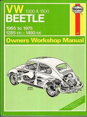 Volkswagen Beetle 1300/1500 Owner's Workshop Manual (Service: J. H. Haynes
