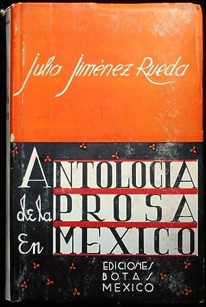 Antología de la prosa en México: Jiménez Rueda, Julio