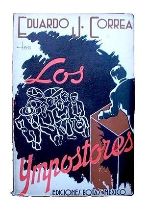 Los impostores. Novela que tal vez pueda: Correa, Eduardo J.