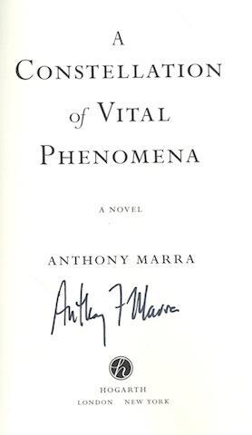 A Constellation of Vital Phenomena: A Novel, Slipcase: Marra, Anthony