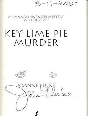 Key Lime Pie Murder (Hannah Swensen Mysteries), Signed: Fluke, Joanne