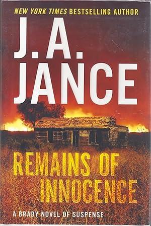 Remains of Innocence: A Brady Novel of Suspense (Joanna Brady Mysteries): Jance, J. A.