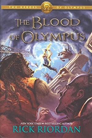 The Heroes of Olympus Book Five: The Blood of Olympus SIGNED