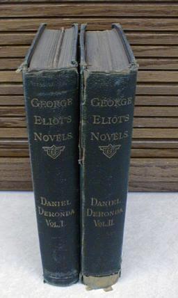 Daniel Deronda 2 Vol Set Novels George Eliot Vol VIII [Hardcover]: George Eliot