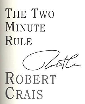 The Two Minute Rule [Hardcover] by Crais, Robert: Robert Crais