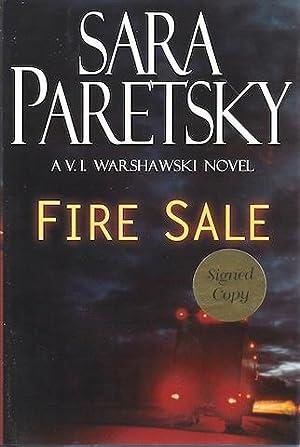 Fire Sale (V.I. Warshawski Novels) [Hardcover] by Paretsky, Sara: Sara Paretsky
