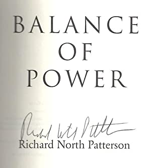 Balance Of Power by Richard North Patterson: Richard North Patterson