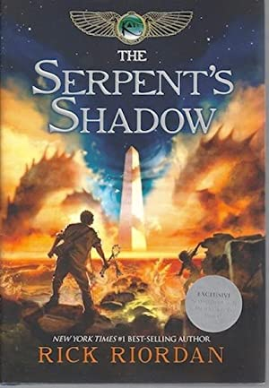 The Serpent's Shadow (The Kane Chronicles, Book 3) SIGNED