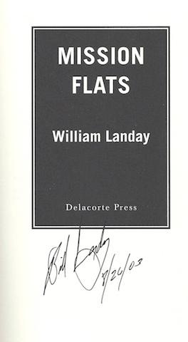 Mission Flats: William Landay