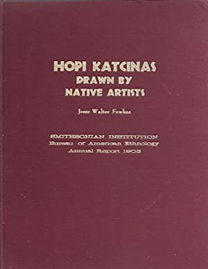 Hopi Katcinas Drawn By Native Artists: Fawkes, Jesse Walter