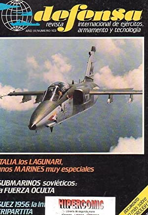 DEFENSA Nº 103 -REVISTA MILITAR AÑO 1986