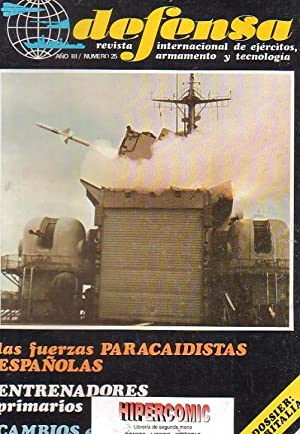 DEFENSA Nº 25 -REVISTA MILITAR AÑO 1980