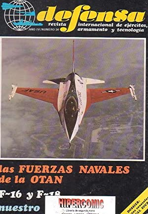 DEFENSA Nº 34 -REVISTA MILITAR AÑO 1981