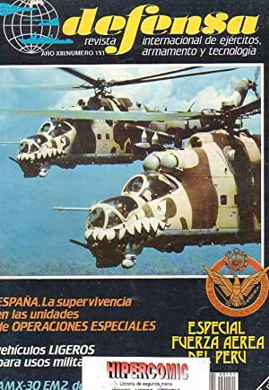 DEFENSA Nº 151 -REVISTA MILITAR AÑO 1990