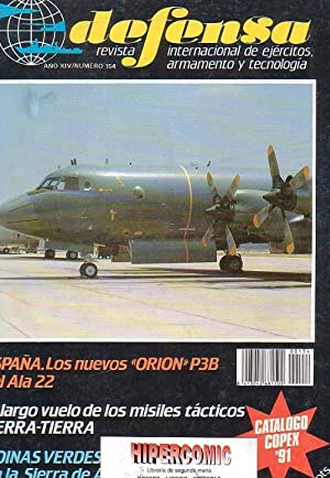 DEFENSA Nº 154 -REVISTA MILITAR AÑO 1991
