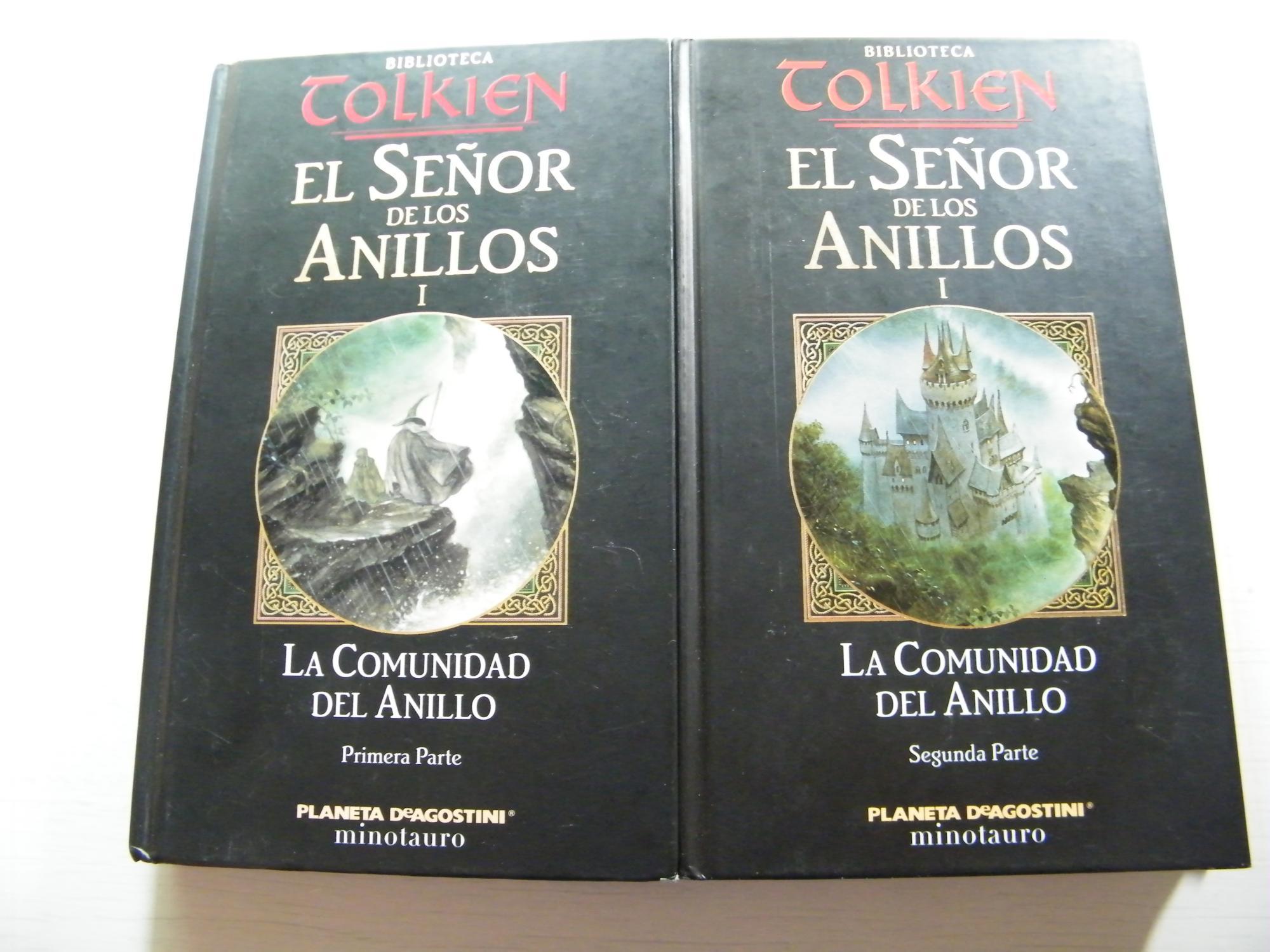 La comunidad del Anillo: J. R. R. Tolkien.