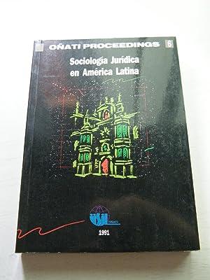 Sociología jurídica en América Latina.