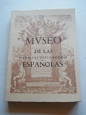 FACSÍMIL MUSEO DE LAS MEDALLAS DESCONOCIDAS ESPAÑOLAS: VINCENCIO IVAN DE
