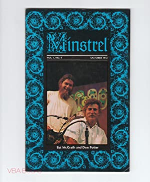 Minstrel. Vol. 1, No. 4, October 1972