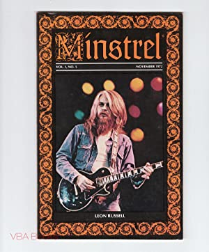 Minstrel. Vol. 1, No. 5, November 1972