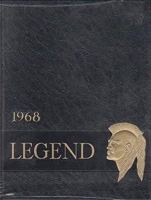 1968 Legend: Maine Township High School West, Des Plaines, Illinois