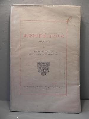 La magistrature lyonnaise 1771 à 1883.: NIEPCE L.