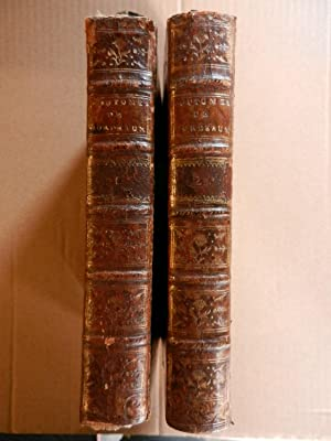 Coutumes du ressort du Parlement de Guienne avec un commentaire - 2 Vol. 1768: LAMOTHE