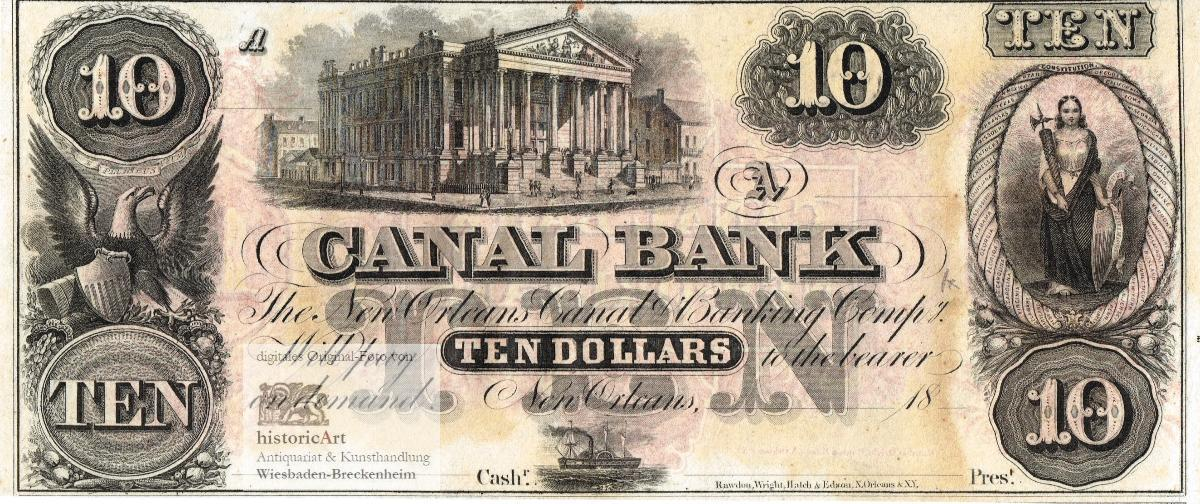 The New Orleans Canal & Banking Company.: The New Orleans