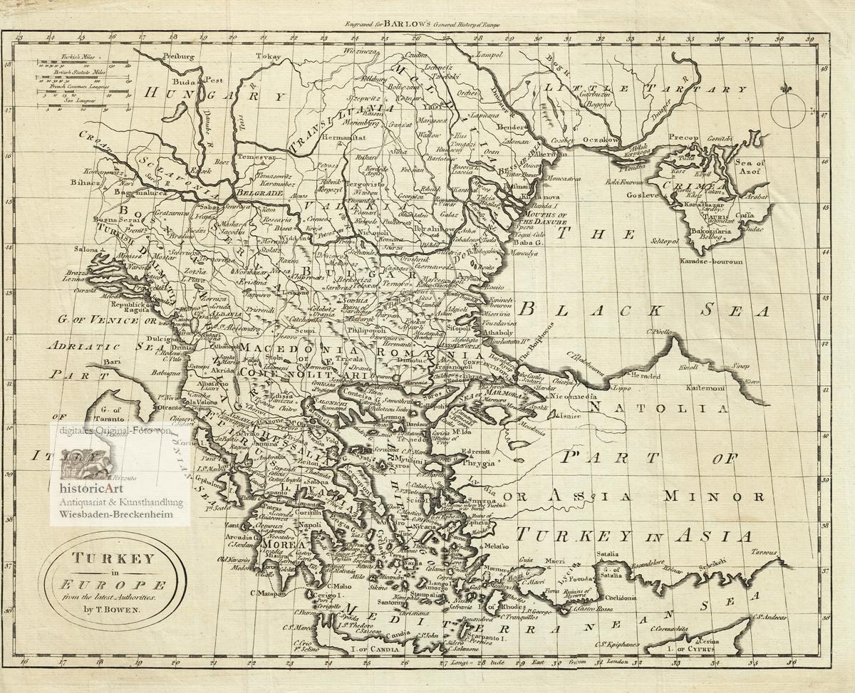 Vialibri Turkey In Europe From The Latest Authorities Antique
