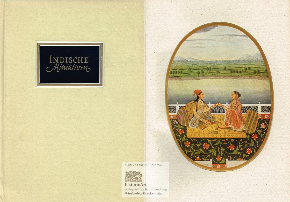 indische miniaturen einfuehrung zvab. Black Bedroom Furniture Sets. Home Design Ideas