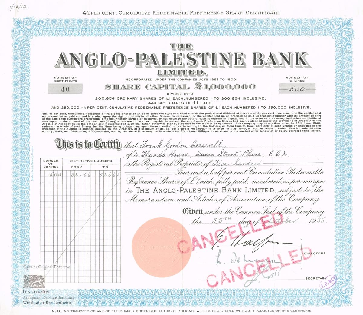 Stock certificate signed abebooks 1betcityfo Gallery