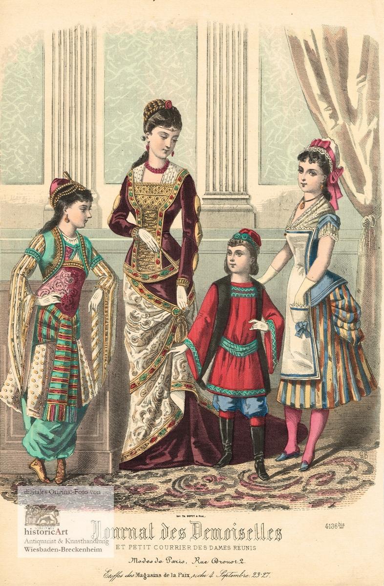 Journal des Demoiselles et Petit Courrier des: GB (Lebensdaten unbekannte),