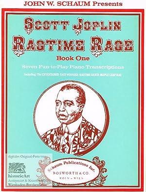 Ragtime Rage. Book One. Seven Fun-to-Play Piano: Joplin, Scott; Schaum,
