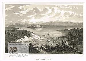 San Francisco im November 1848. Ansicht über: Anonymus