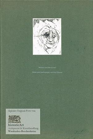 Masken und Menschen. Bilder und Zeichnungen von: Steinel, Kurt (Illustr.);