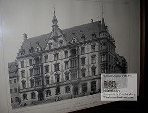 Leipzig. Presbytere - Predigerhaus - Rectory. Das: Hugo Licht (Architekt)