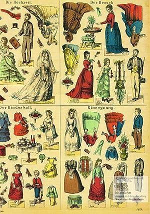 Ankleide-Figuren für verschiedene Gelegenheiten. Die Hochzeit. Der: J.F. Schreiber Verlag