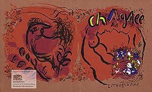 Chagall Lithographe. Buchumschlag zu Band I des: Marc Chagall (1887-1985),