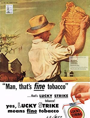 Lucky Strike Cigarettes.