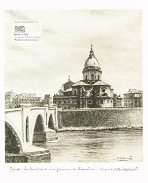 Roma. La Basilica di San Giovanni dei: Antonio Carbonati (1893-1956),