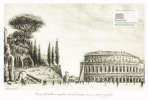 Roma. Il Teatro di Marcello e la: Antonio Carbonati (1893-1956),
