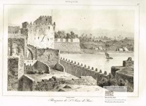 Remparts de St. Jean d'Acre. Ansicht der: Augustin Francois Lemaitre