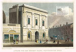 Asylum for the Indigent Blind, Westminster Road.: Robert Acon (1792-1880),