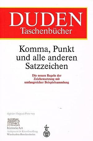 Komma, Punkt und alle anderen Satzzeichen. Die: Franziska Reuter