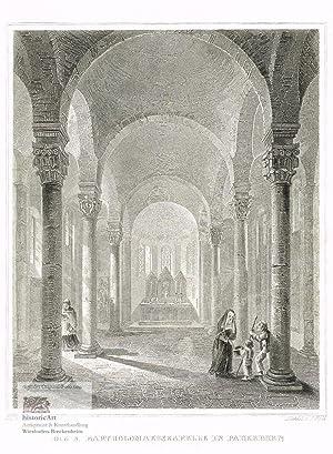 Die St. Bartholomaeuskapelle in Paderborn erbaut um: J.M. Kolb, deutscher