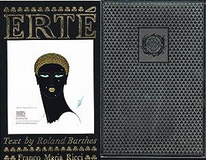 Erté. Text by Roland Barthes. Limitierte bibliophile: Erté, das ist