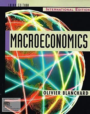 Macroeconomics. International Edition: Olivier Blanchard