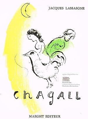 Le coq au croissant. Der Hahn und: Marc Chagall (1887-1985),