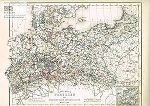 Königreich Preussen und die norddeutschen Bundesstaaten. Große: Major Carl Radefeld